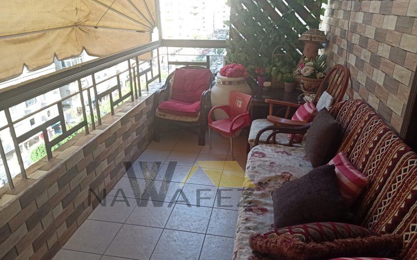 شقة للبيع 220 متر بموقع مميز بمدينة نصر شارع اتجاهين متفرع من احمد فخرى