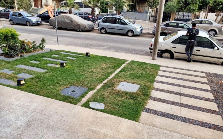 شقة للبيع 280 متر عمارة حديثة راقية شارع اتجاهيين  خطوات من شارع وميدان الحجاز