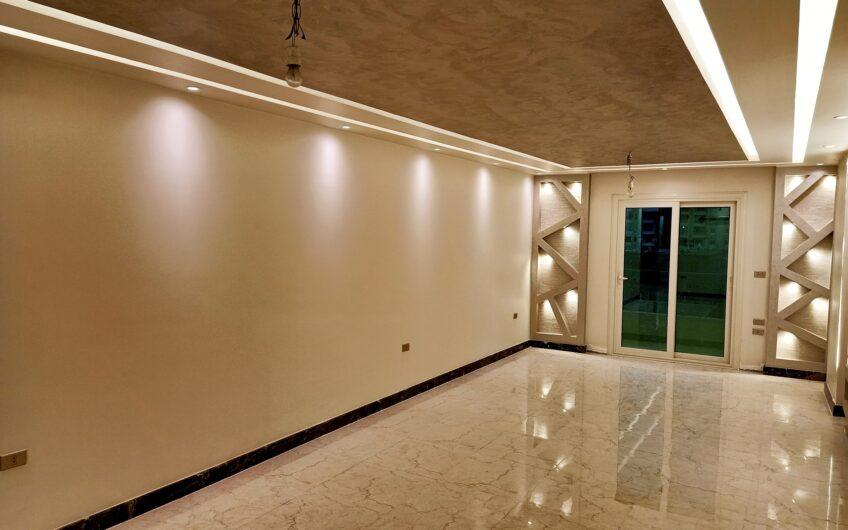 شقة للبيع 200 متر بالقرب من النادى الاهلى مبانى 2019 تشطيب حديث على الفرش والسكن