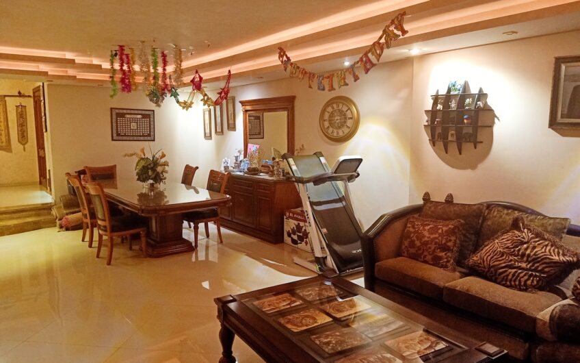 شقة للبيع 300 متر بأفضل موقع بمدينة نصر على حديقة الطفل مسجلة وحصة جراج مميزة تشطيب راقى