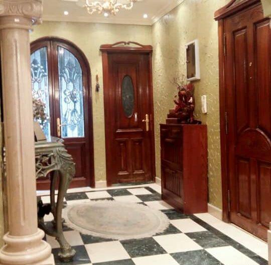 شقة للبيع 300 متر  مسجلة تقسيم رائع بشارع ابو داوود الظاهرى الرئيسى