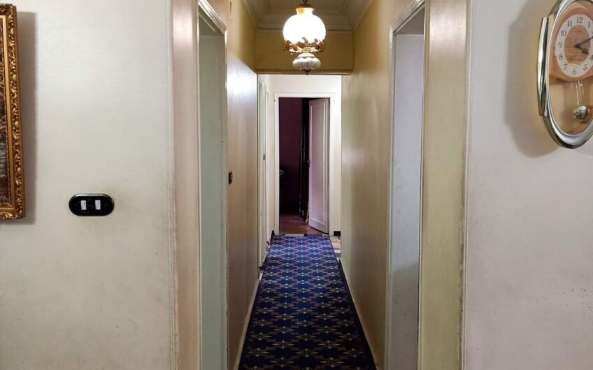 شقة للبيع 165 متر بموقع مميز خطوات من دار الدفاع الجوى وشارع النزهة
