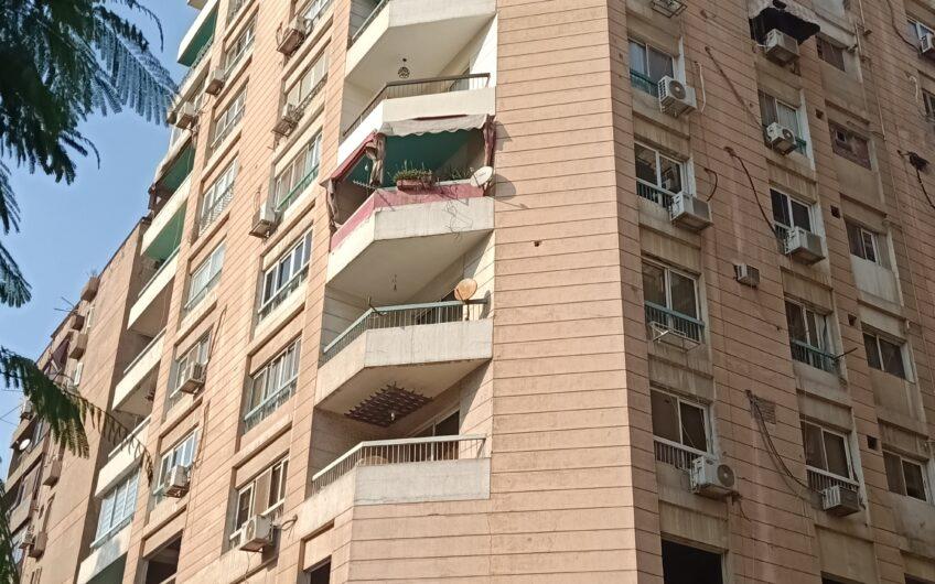 شقة للبيع 250 متر بالمربع الذهبى فيو حديقة الشقة ناصية