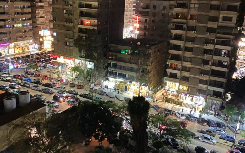 شقة للبيع 250 متر بالمربع الذهبى خطوات من عباس العقاد فيو مفتوح حديقة 2 حصة جراج
