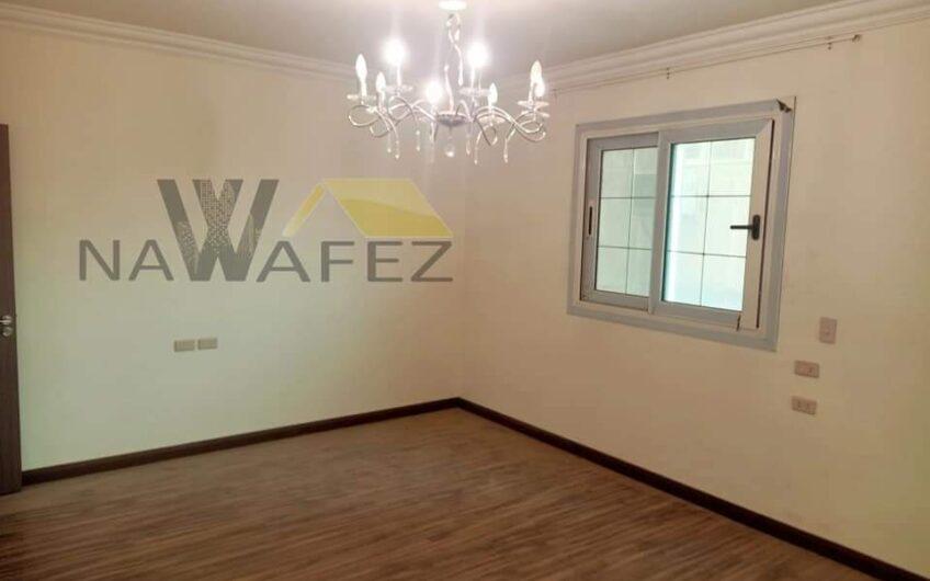 شقة للبيع 230 متر تشطيب حديث بالقرب من جنينة مول بالتكييفات كاملة