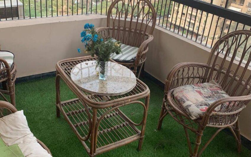 شقة للبيع 230 متر عقد مسجل فيو حديقة موازى لمكرم عبيد